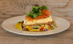 Savoury Smoked Salmon Cheesecake